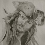 """Pirates"" Drawing by Sonja Heisinger"